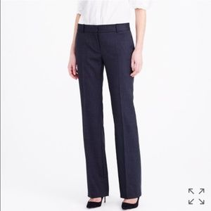 Brand New Super 120s Jcrew Pinstripe Trousers